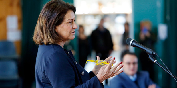 """Education Minister Hekia Parata has introduced a new funding model to target """"at risk"""" students. Photo / John Stone"""