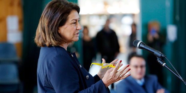 Education Minister Hekia Parata says a new funding model for schools targets students whoa are at a higher risk of educational non-achievement. PHOTO/JOHN STONE
