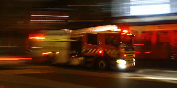 Loading Fire crews were kept buy in Wellington overnight. Photo / File