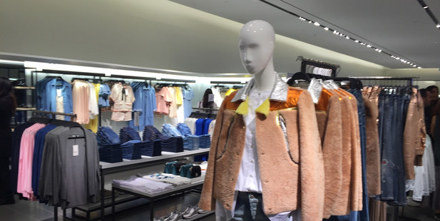 Loading First look at the womenswear on offer inside Zara at Sylvia Park. Photo / Doug Sherring