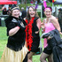 Pamela Alexander, Kayla Gravatt and Jenna Pille dress up for the event.