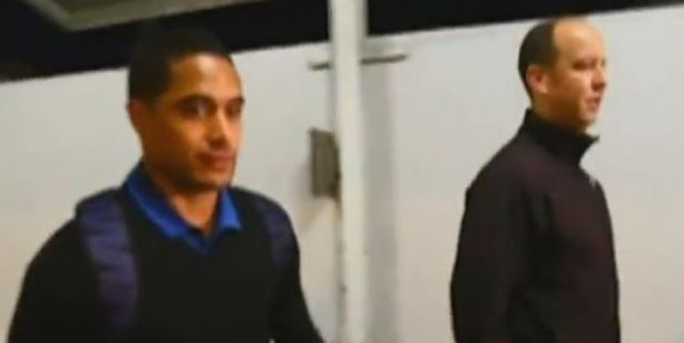 Loading All Black Aaron Smith has returned to New Zealand following shock revelations of his toilet tryst. Photo / TVNZ