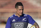All Blacks halfback Aaron Smith. Photo / Brett Phibbs