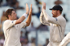 New Zealand and India are set to play the third test beginning Saturday. Photo / Ap
