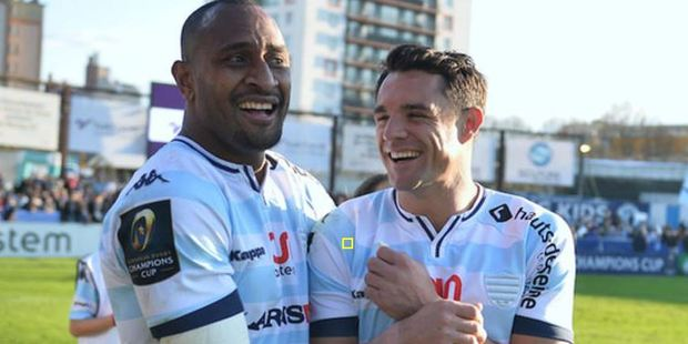 Dan Carter and Joe Rokocoko's French club has defended the players. Photo / Photosport.co.nz