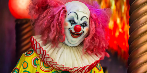 Loading Clowns were basically good until the 1930s. In more recent times they have been depicted negatively in Hollywood, according to a sociologist. Photo / 123rf
