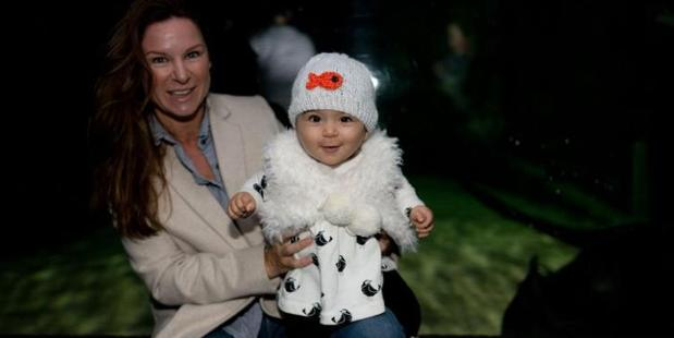 A gorgeous tot in a goldfish beanie. Photo / Supplied