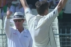 Source: SKY Sports. The Blackcaps were were bundled out for 204 despite some surprising resistance from Jeetan Patel and finally had India 227/8 by the end of play