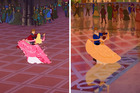 A dancing scene from Sleeping Beauty, 159 was recycled in the Disney movie Sleeping Beauty. Photo / Disney