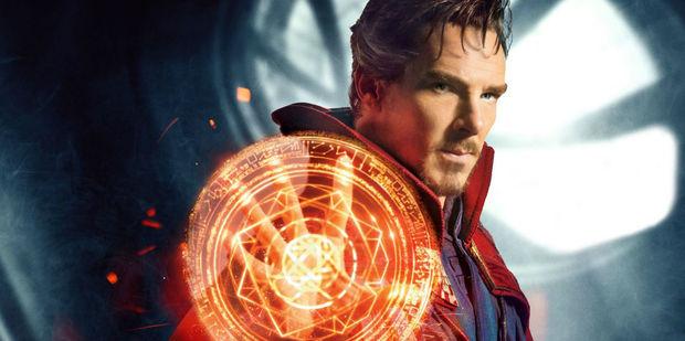 Benedict Cumberbatch stars as Doctor Strange in the upcoming Marvel movie.