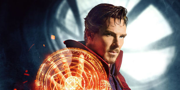 Loading Benedict Cumberbatch stars in the upcoming Marvel movie, Doctor Strange.