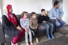 A Palestinian family seeking refugee from the dangers of Syria, followed by Thailand, are finally safe in New Zealand.