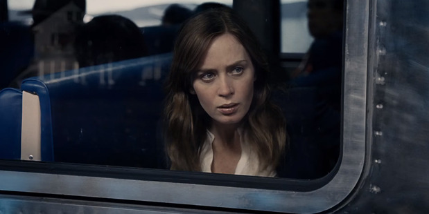 Actress Emily Blunt stars in the movie The Girl on the Train.