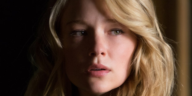 Loading Actress and singer Haley Bennett, 28, plays Megan in the film.