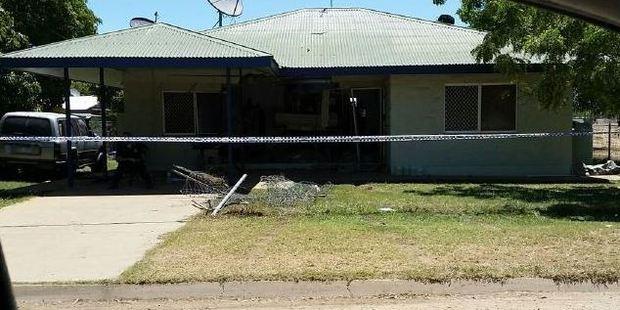 The Kowanyama home where a woman was killed. Photo / Supplied