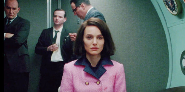 Natalie Portman plays Jackie Kennedy in 'Jackie.' Photo / YouTube