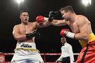 New Zealand heavyweight boxer Joseph Parker versus Alexander Dimitrenko. Photo / Photosport