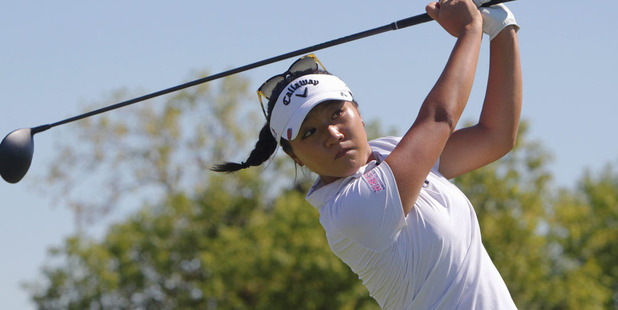 Lydia Ko wasn't in action during the weekend. Photo / AP
