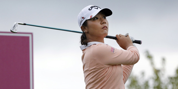Lydia Ko opened with a two-under 70. Photo / AP