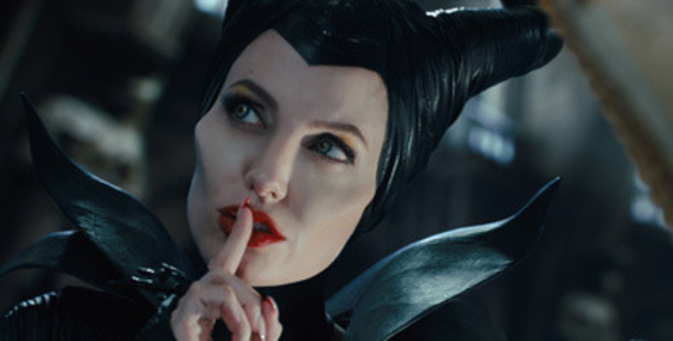 A scene from the movie, Maleficent.