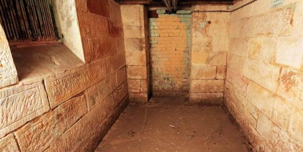 The dungeon at the former girls home in Sydney's west. Photo / Craig Greenhill, News Corp Australia
