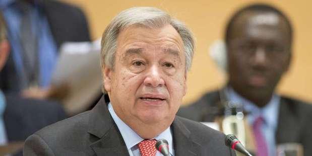 Incoming UN Secretary General Antonio Guterres. Photo/ UNHCR