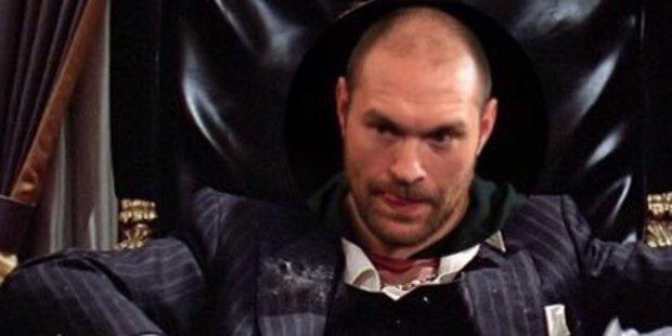 Tyson Fury's 'Tysonmontana' tweet has sparked controversy. Photo / Twitter
