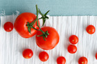 Research has praised the virtues of a tomato-rich diet in slowing the enlargement of the prostate. Photo / Getty
