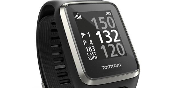 TomTom Golfer 2 watch.