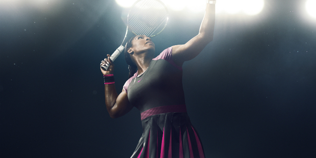 Serena Williams will be playing at the ASB classic next year. Photo / Supplied