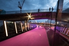 The LightPath cycleway was also named among the supreme winners of the annual Best Design Awards. Picture / Supplied