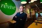 Owner/Founder of Revive cafe, Jeremy Dixon. Photo/Nick Reed