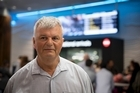Vince Newbold from Browns Bay talks to the NZ Herald after arriving to Auckland from Vietnam where the Air NZ flight he was on hit bad turbulence. 10 October 2016 New Zealand Herald Photograph by Dean Purcell.