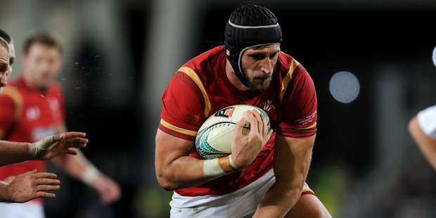 Wales' tour of the Pacific Islands might be moved, sending them back to New Zealand right in the middle of the Lions tour. Photo / Photosport