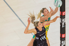 Australian sharpshooter Caitlin Bassett has enjoyed a handy height advantage over Silver Ferns defenders for years. Photo/PHOTOSPORT.