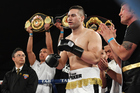 New Zealand heavyweight boxer Joseph Parker will soon be fighting for a world title. Photo / photosport.nz