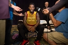 Miami Heat basketball player Udonis Haslem was quick to condemn Donald Trump's comments. Photo / AP