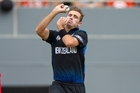 Tim Southee is fit to return to the Black Caps for the one-day series after struggling to watch the test matches while injured. Picture / Jason Oxenham