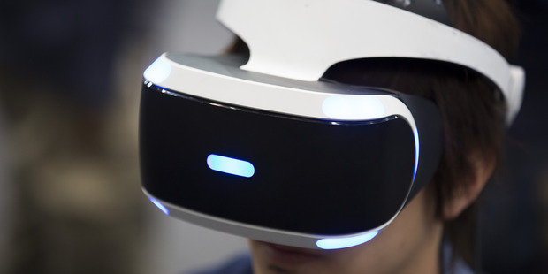 Sony has released its take on virtual reality, the Playstation VR unit. Photo/AP