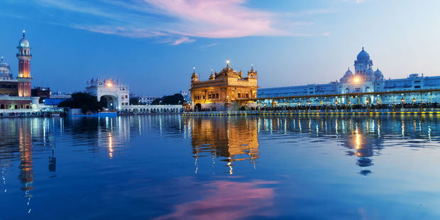 The evening at sunset in India. Photo / 123rf