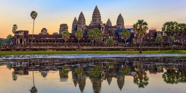Angkor Wat temple in Cambodia. Photo / 123rf