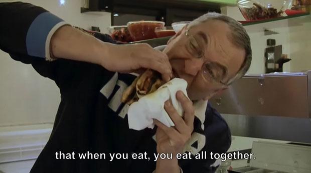 ... then eat.
