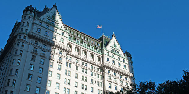 The Plaza hotel in New York. Photo / 123RF