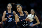 Maria Tutaia is facing strong competition to win back her starting spot in the Silver Ferns line-up. Photo/PHOTOSPORT.