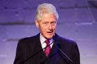 Former US President Bill Clinton. Photo / AP