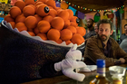 Chris O'Dowd in a scene from Mascots, Christopher Guest's new movie that hits Netflix today.