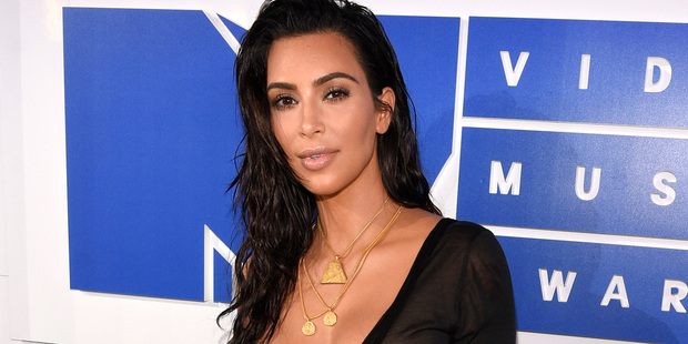 Kim Kardashian West was robbed at gunpoint in a Paris hotel. Photo/AP