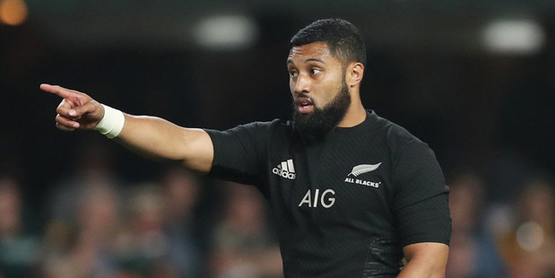 Loading Lima Sopoaga of New Zealand during the The Rugby Championship match between South Africa and New Zealand. Photo / Getty Images.