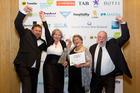 (From left) Pete Williams, Tristen Williams, Jyl Morrison and Ian Morrison.  Photo/Carmen Bird