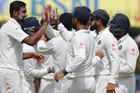 Ravichandran Ashwin was the architect in the middle order's demise. AP/Photo